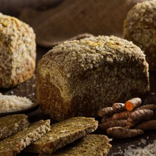 Brot des Monats Februar Dinkel Reisbrot