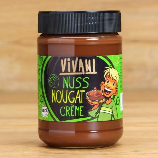 Vivani Nuss-Nougatcreme 400 g