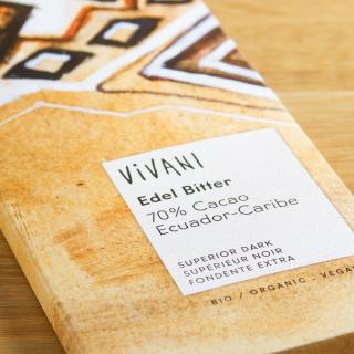 Vivani Edel Bitter 70 % 100 g
