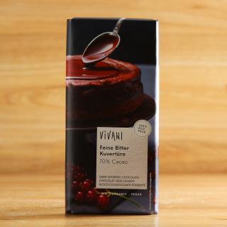 Kuvertüre, feine Bitterschokolade 200 g