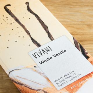 Vivani Weisse Schokolade Vanille 100 g