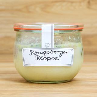 Glas Königsberger Klopse in Soße 400 ml