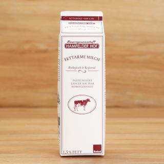 Hamfelder fettarme Milch 1,5%  1 l