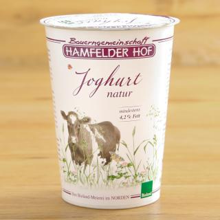 Hamfelder Joghurt 4,2 % natur 500 g