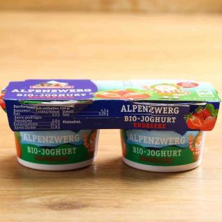 Alpenzwerg  Erdbeer-Banane  2 x 2 x 100 g