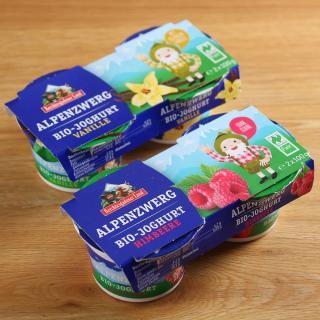 Alpenzwerg Himbeer-Vanille 2 x 2 x 100 g