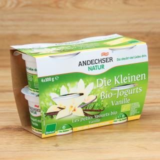 Joghurt Vanille 4 x 100 g 3,7 %
