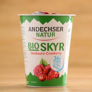 Skyr Himbeere Cranberry 0,2%