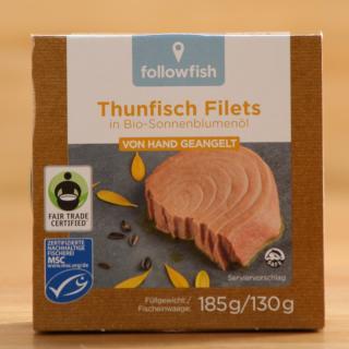 Thunfisch in Sonnenblumenöl Wildfang