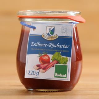 Fruchtaufstrich Erdbeer/Rhabarber
