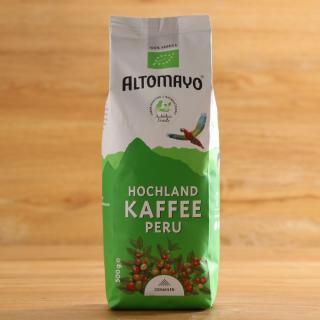 Hochland Kaffee gemahlen