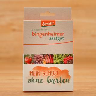 Saatgutbox Mein Gemüse ohne Garten