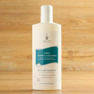 Family Shampoo & Duschbad 0,5 L Bioturm