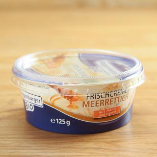 Frischcreme Honig-Meerrettich 125 g