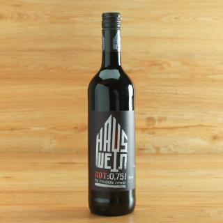 Hauswein rot halbtrocken 0,75 l AchtGrad