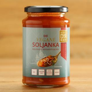 Die vegane Soljanka