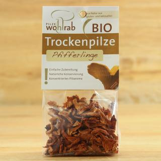 Pfifferlinge getrocknet