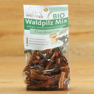 Waldpilz Mix getrocknet