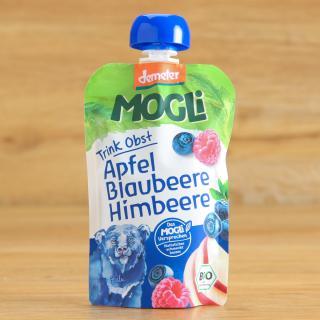 Moothie Apfel-Blaubeer-Himbeer