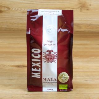 Maya Kaffee gemahlen