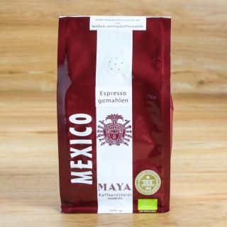 Maya Espresso gemahlen