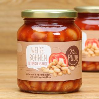 Bohnen weiß in Tomatensauce 350 g