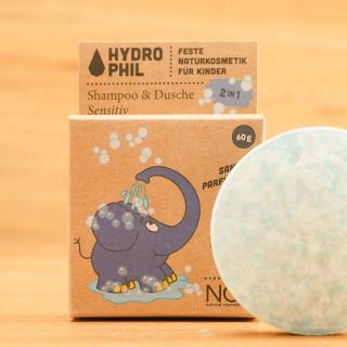 Festes 2in1 Shampoo & Dusche Elefant Sensitiv
