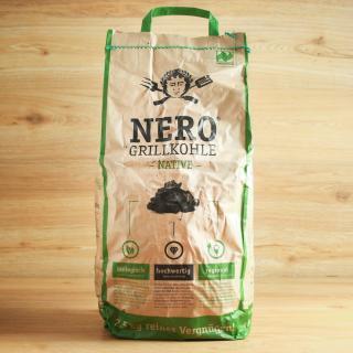 Grillkohle native Nero