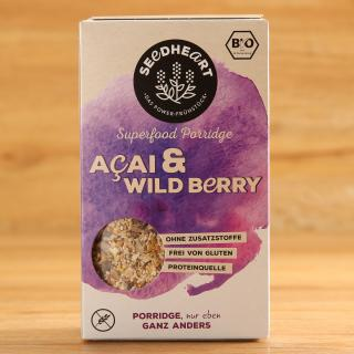 Acai & Wild berry Porridge seedheart