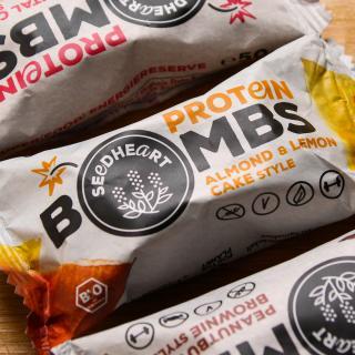 Protein Bombs Almond & Lemon