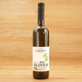 Koroneiki Olivenöl nativ extra Flasche