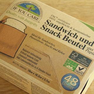 Sandwich- und Snackbeutel 48 ST