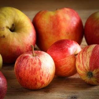 Äpfel Rote Nikolausäpfel