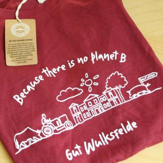 "T-Shirt ""no planet b"" Gr. L"