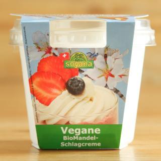Mandel Schlagcreme vegan