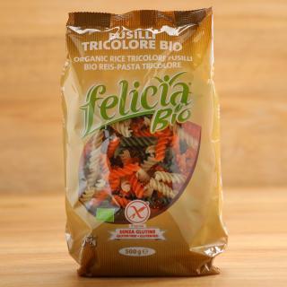 Fusilli tricolore Reis 500g