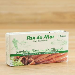 Sardellenfilets in Olivenöl  50 g++