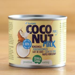 Kokosmilch 80% Kokosanteil 200 ml