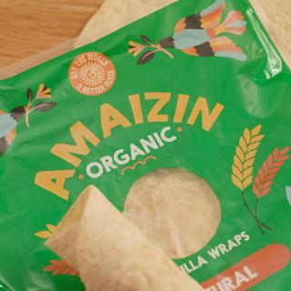 Tortilla Wraps extra fibre 240 g